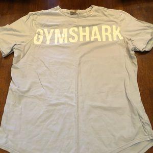 Gym shark light blue BIG BLOCK scoop xxl